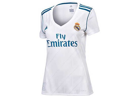 quality design 3235d a8699 adidas Womens Real Madrid Home Jersey 2017-18 | Real Madrid ...