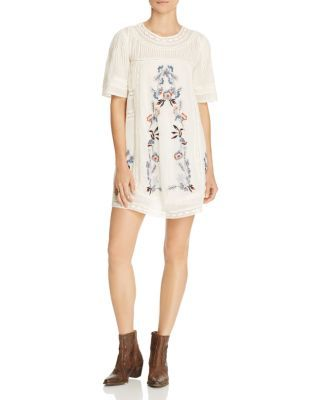 FREE PEOPLE Perfectly Victorian Mini Dress. #freepeople #cloth #dress
