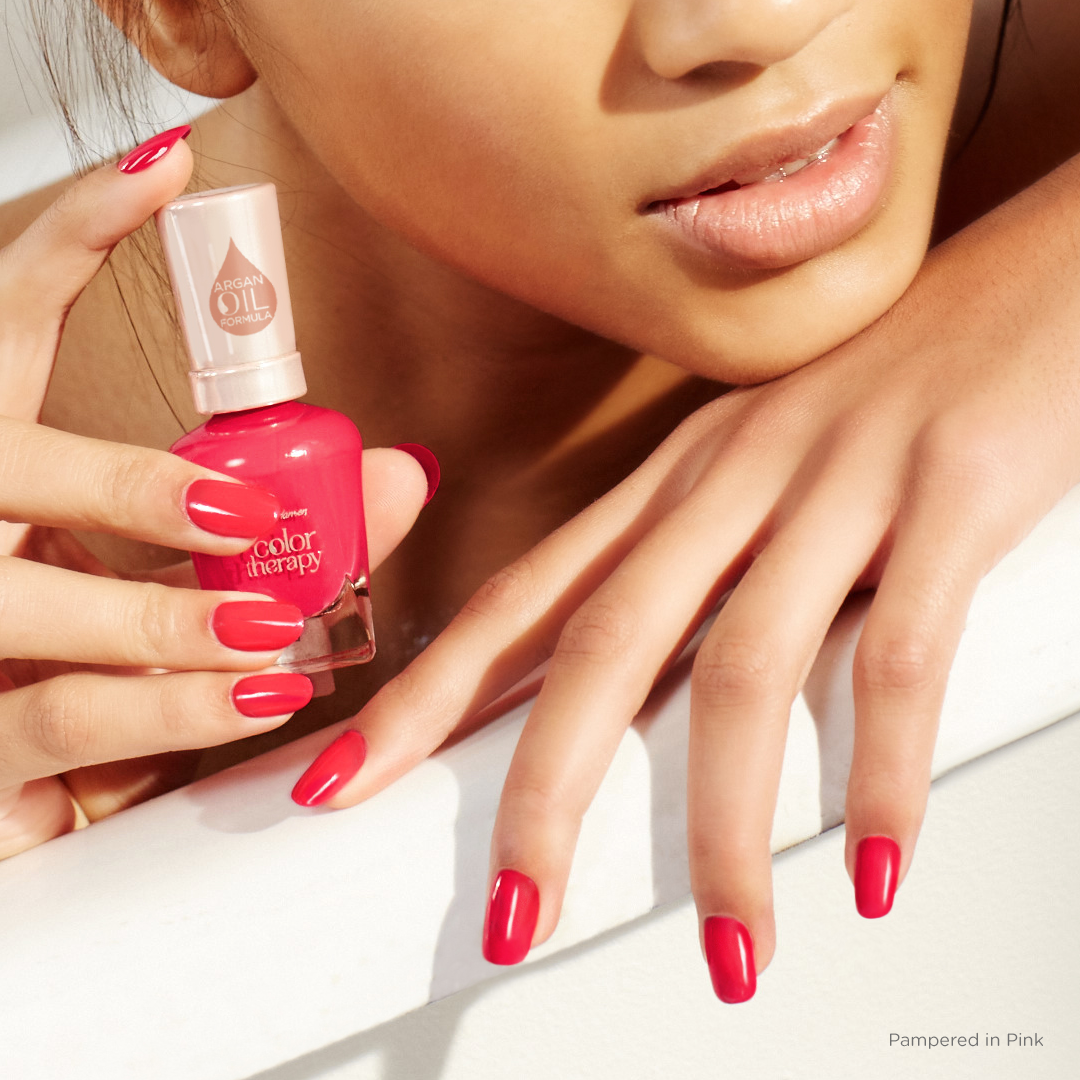 Colour therapy for beauty - Color Therapy The Pinks Corals Pampered In Pink
