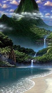 The Word Cartoon Amazing Nature 3d Wallpapers For Nokia Mobiles Download Nokia 5230 3d Animated Wallpapers Download Free Waterfall Beautiful Nature Scenery