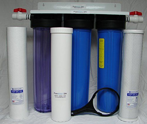 Whole House Well Water Filtration System For Iron Sulfur