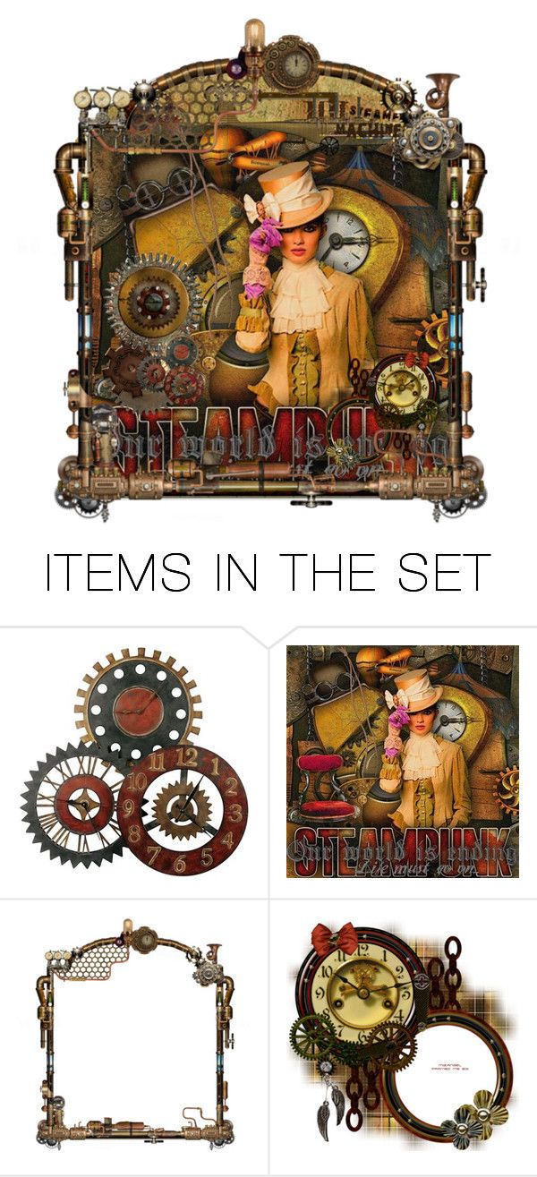 """steampunk"" by halebugg ❤ liked on Polyvore featuring art and steampunk"