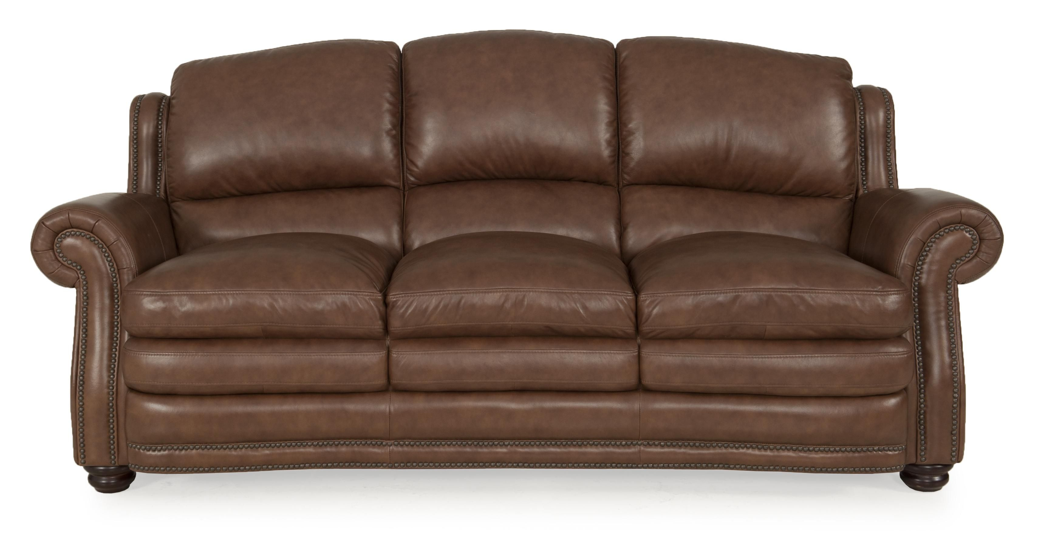 - Futura Leather 8438 Chesapeake Leather Sofa - Great American Home