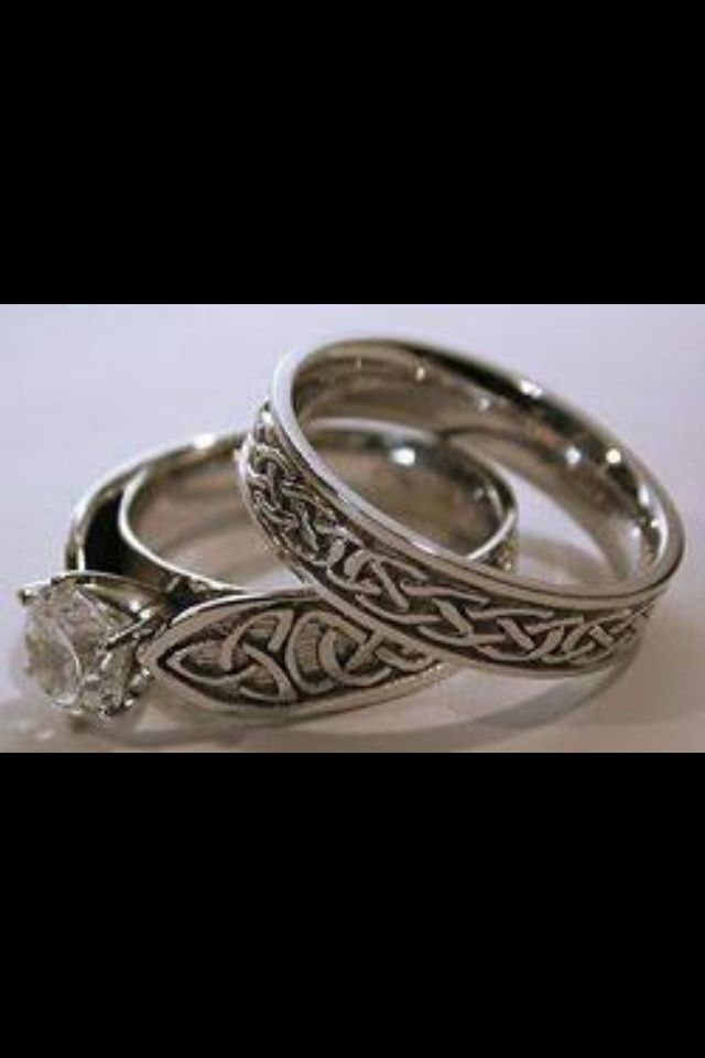 celtic wedding bands - Celtic Wedding Ring Sets