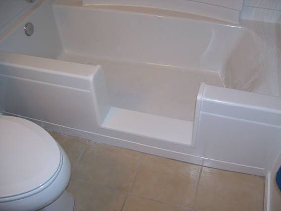 Pin By Jane Tapley On Tub To Shower Conversion | Pinterest | Bathtub Inserts,  Bathtubs And Garden Tub