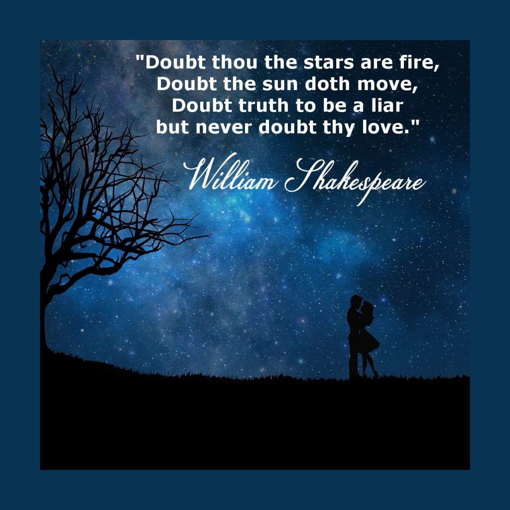 Never Doubt - William Shakespeare | Shakespeare wedding ...