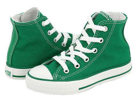boys green converse