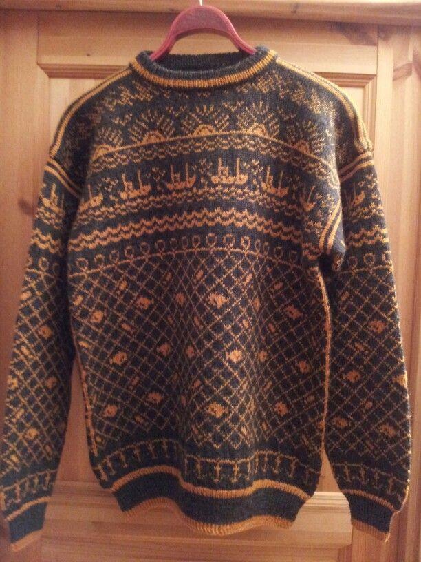 31a54c65 Finnmarks genser   mine strikkeprosjekter   Genser