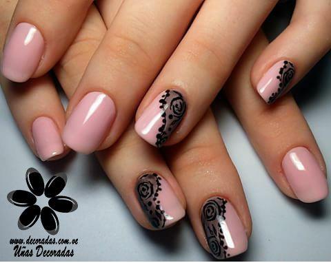 modelos de uñas decoradas | Manicura de uñas, Uñas con ...