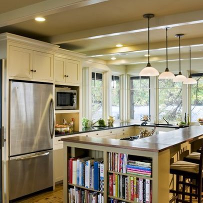 t shaped kitchen island with built in table design pictures remodel decor and ideas page 6 on t kitchen layout id=90184