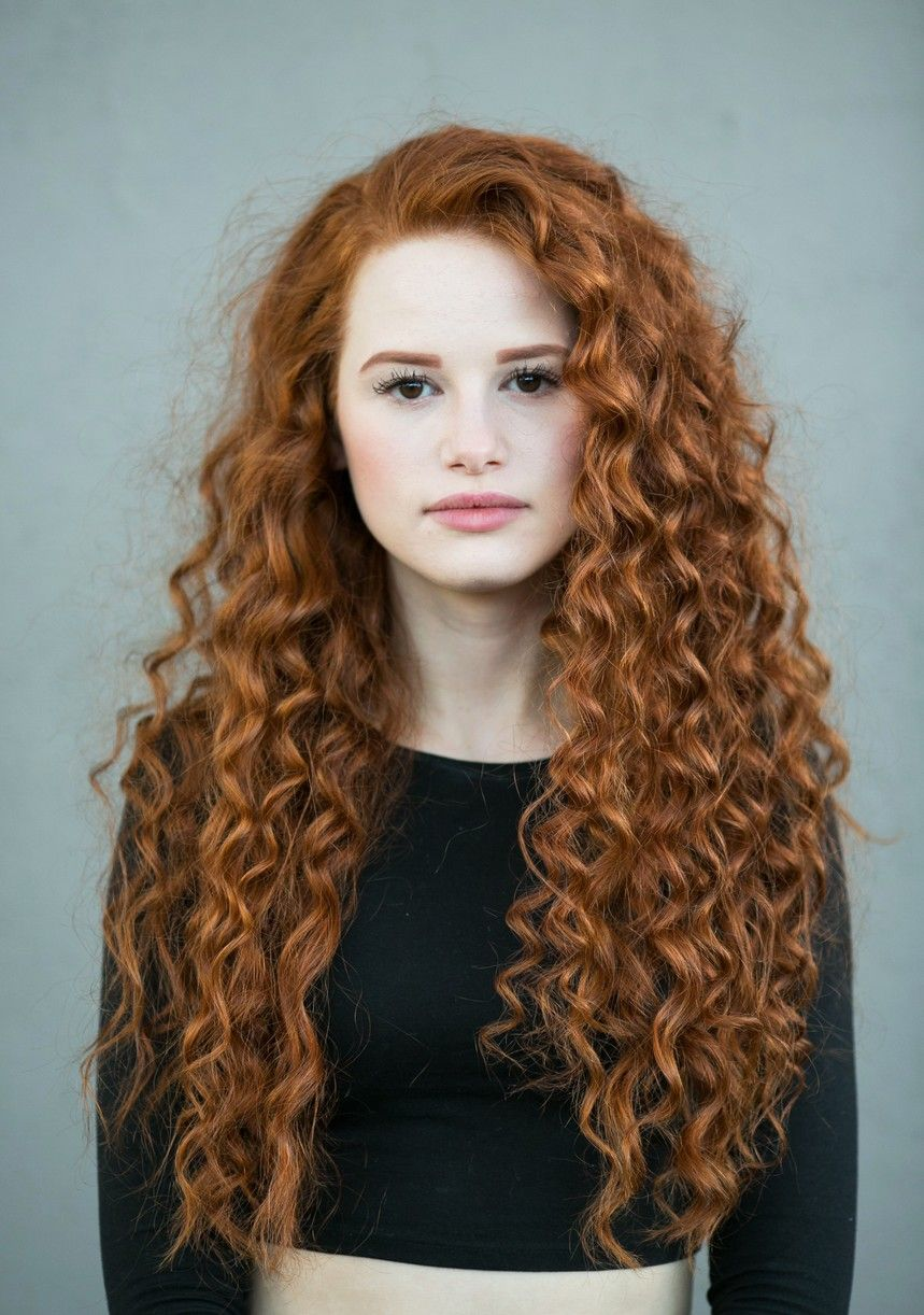 Madelaine Petsch Curly Red Hair New Book 02 Red Curly Hair