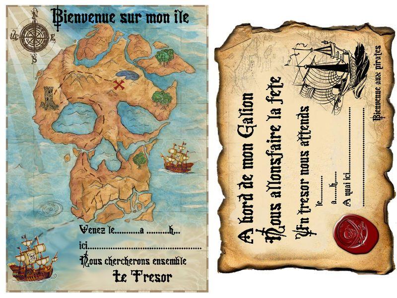 Diplome de pirate imprimer - Diplome de cuisine a imprimer ...