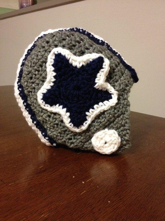 Crochet Dallas Cowboy Hat by AlliesHatShop on Etsy, $14.00 ...