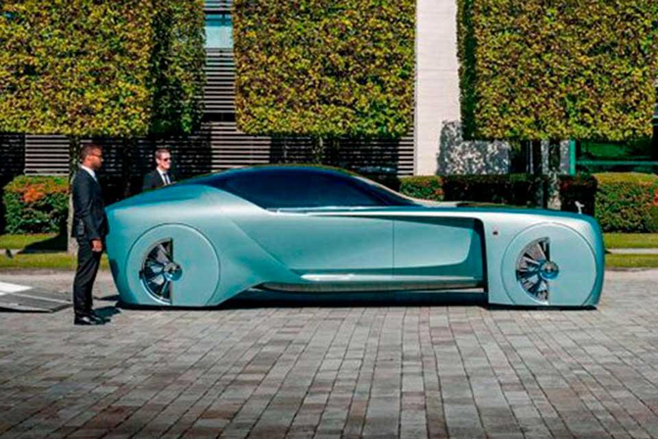 Rolls Royce 103EX, el lujo en un auto del futuro - Todo Autos