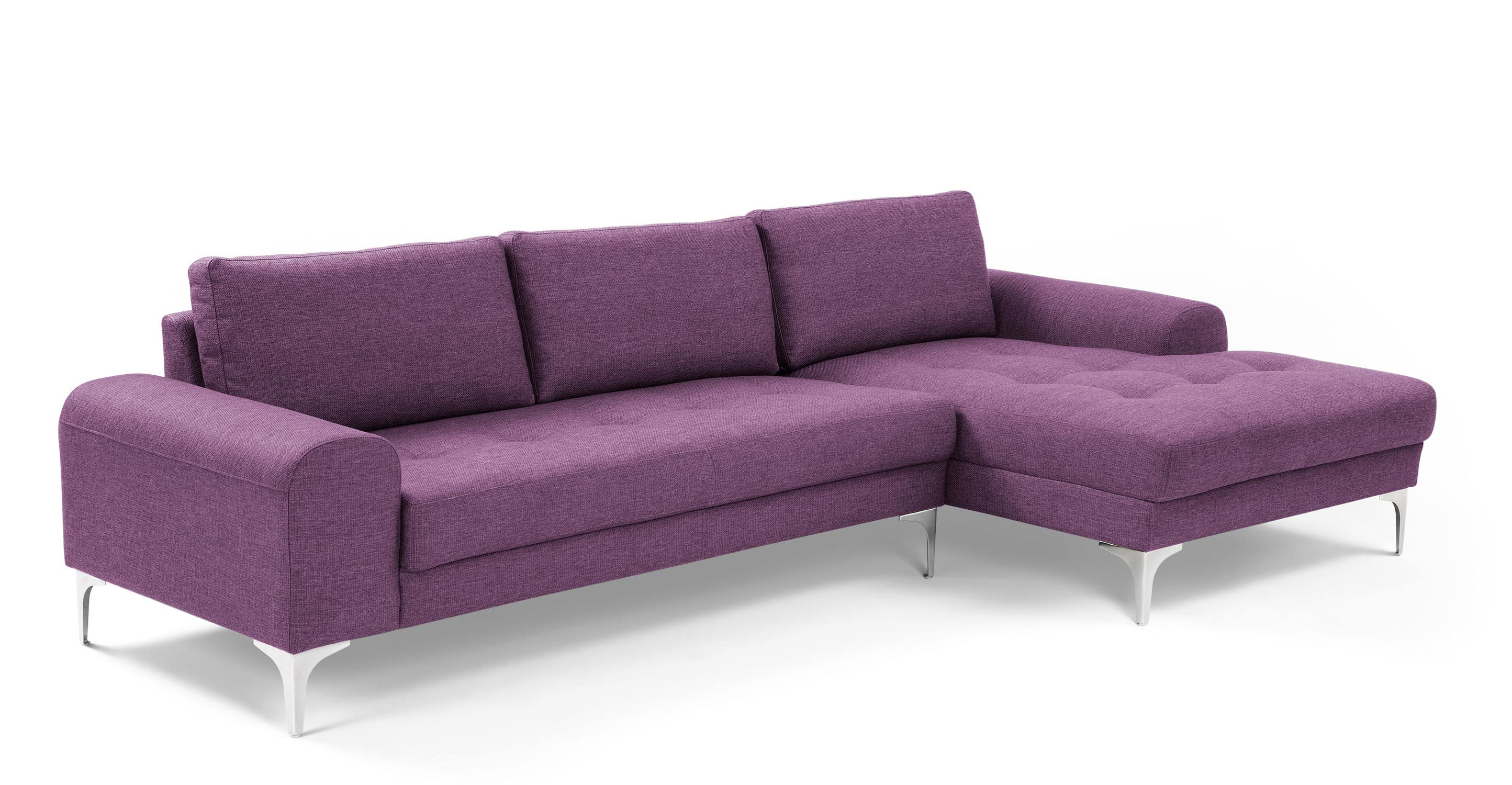 Snuggle up or stretch out - the Vittorio corner sofa comfortably seats up to six people.