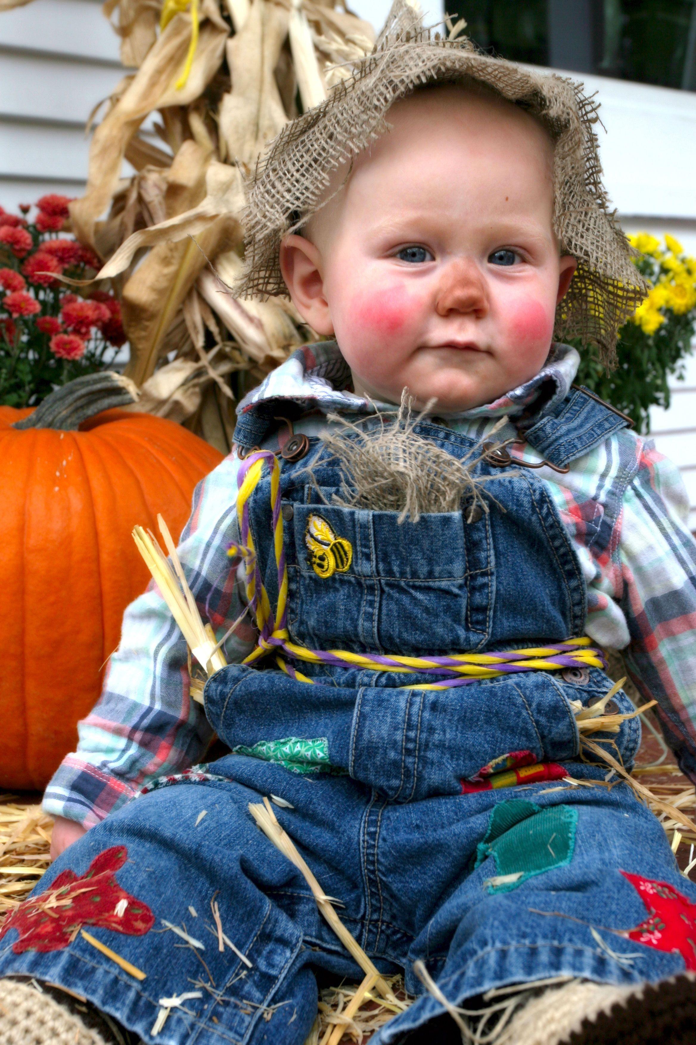 Baby Scarecrow Costume   Halloween costume - Wizard of Oz ...