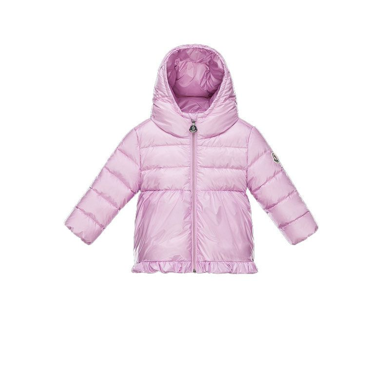 df2c0c42c Baby Moncler Lilac Odile Hooded Down Coat