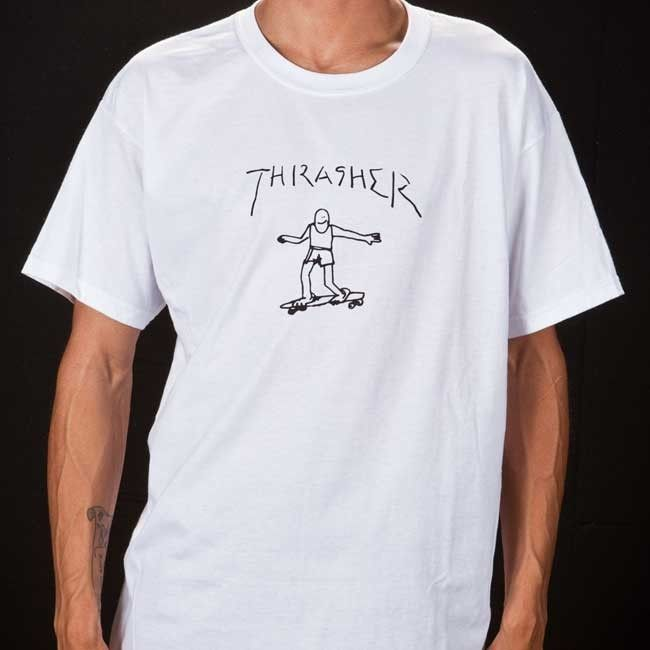 3ad0b845 Gonz T-Shirt By Mark Gonzales (Navy) in 2019   Streetwear and High ...
