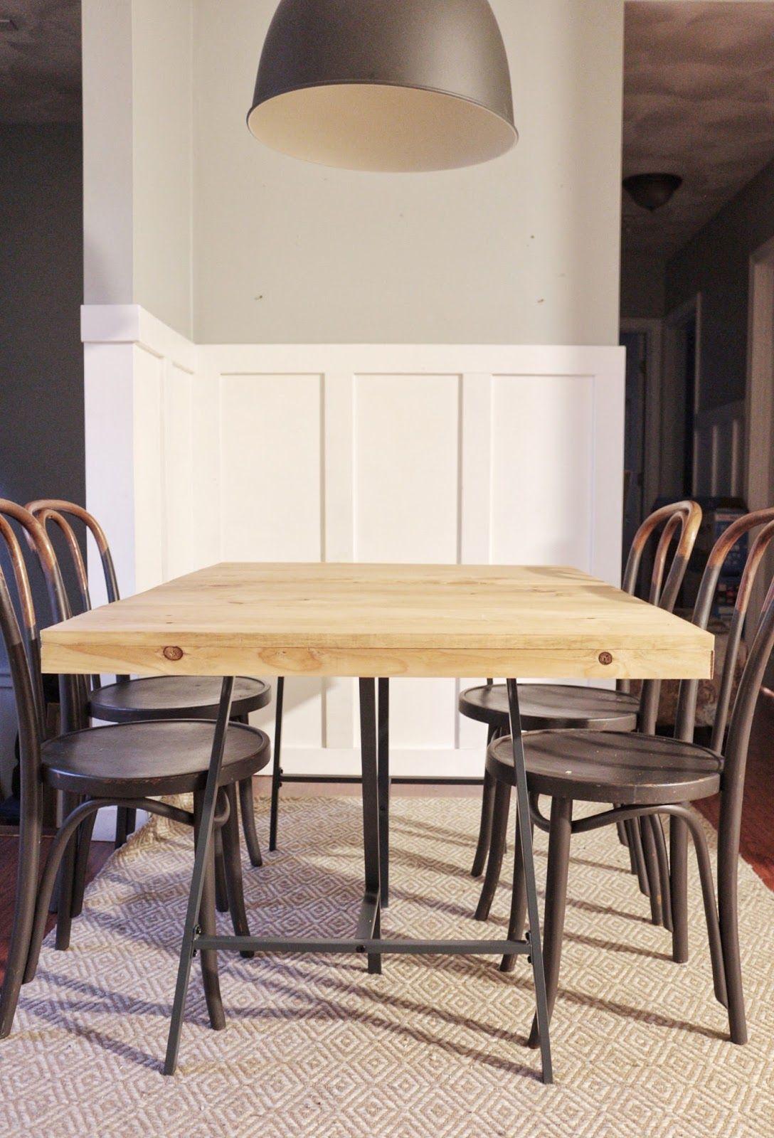 Diy Dining Table Mesa Comedor Ikea Mesas De Comedor Mesas