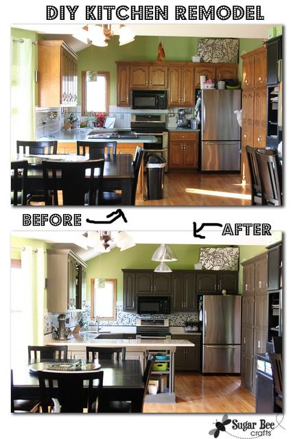 Roundup: 10 Inspiring Kitchen Cabinet Makeovers | kitchen cabinets on small galley kitchen makeovers, ideas for fireplace makeovers, ideas for bedroom makeovers, ideas for living room makeovers, ideas for lamp makeovers, ideas for mirror makeovers, kitchen counter makeovers, ideas for kitchen countertops, ideas small kitchen makeovers before and after,