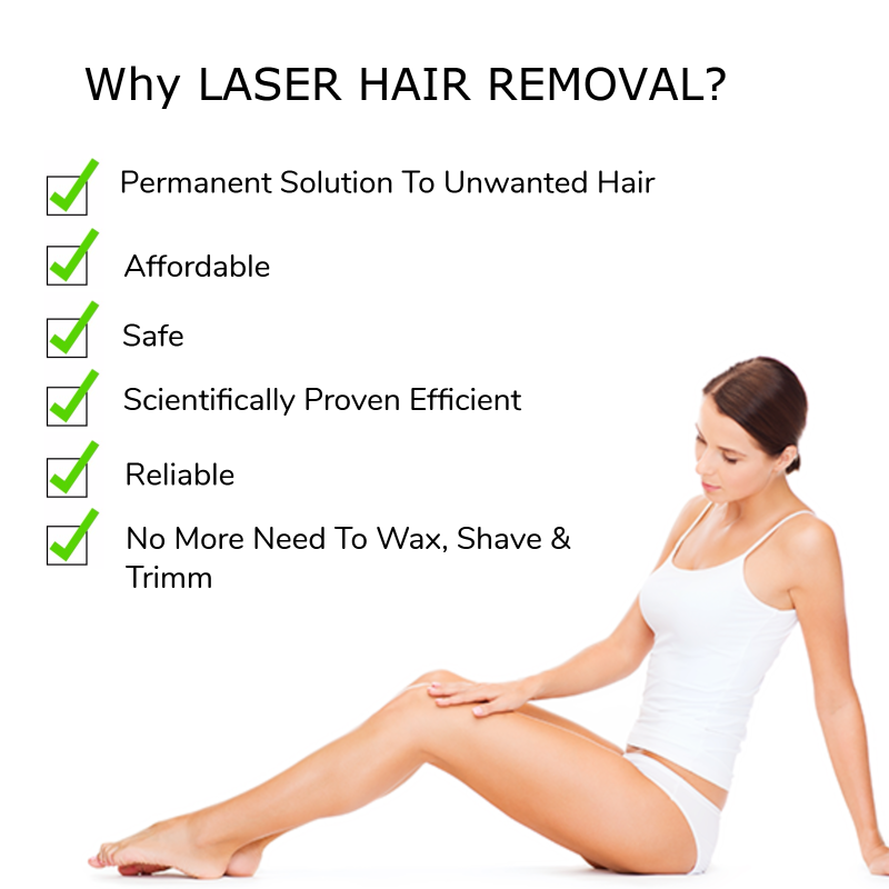 Lasers Are Useful For Removing Unwanted Hair From The Face Leg