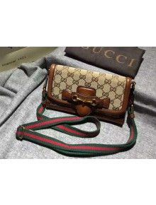 2b3c34e50747 Gucci GG Supreme Canvas Lady Web Hand-stained Convertible Wallet 382275