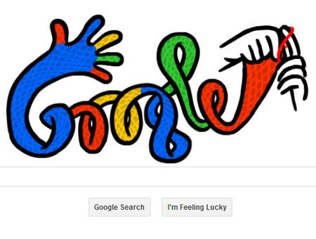 Google celebrates First Day of Winter with `knitted` doodle