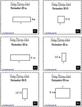 40+ Perimeter find the missing side length worksheet Useful