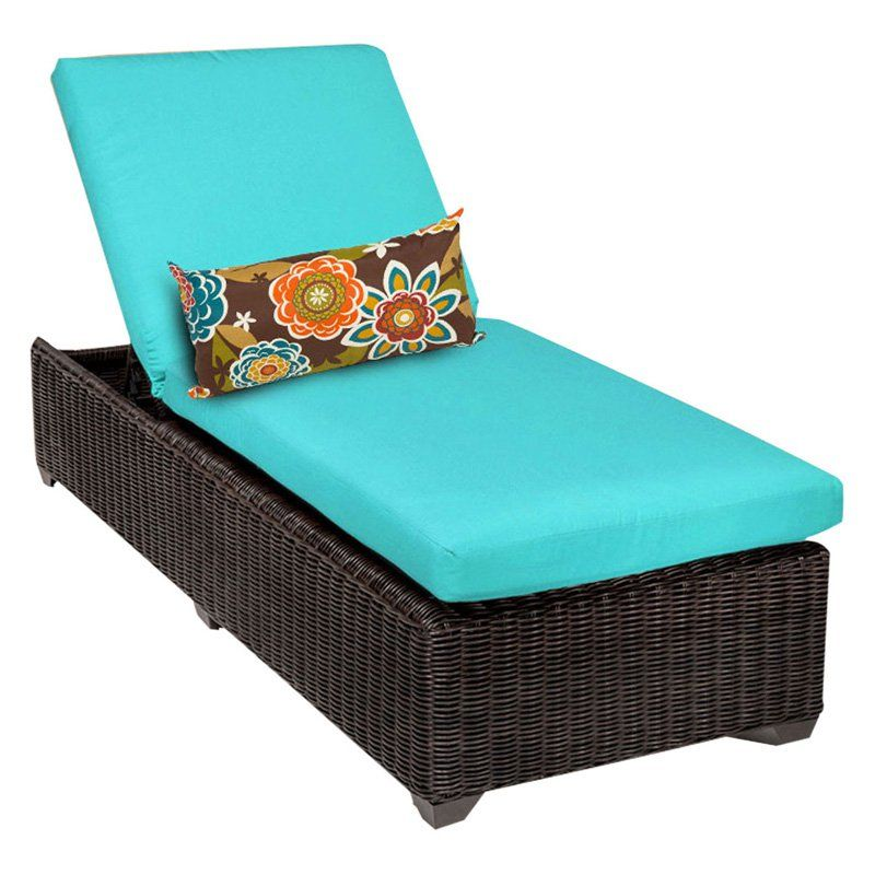Tk Classics Venice Outdoor Chaise Lounge Set Of 2 Cushion Covers
