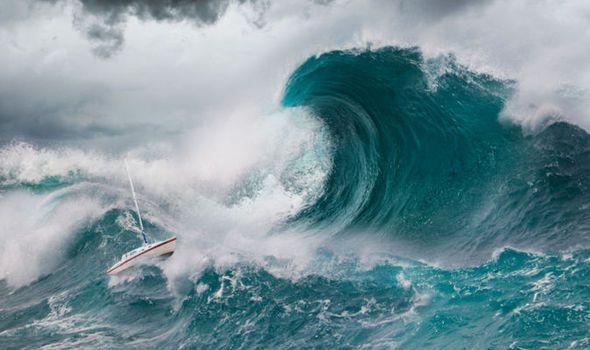 Tsunami Warning Experts On Alert Amid Fears Of Natural Disaster Tsunami Waves Cool Boat Names Boat Names