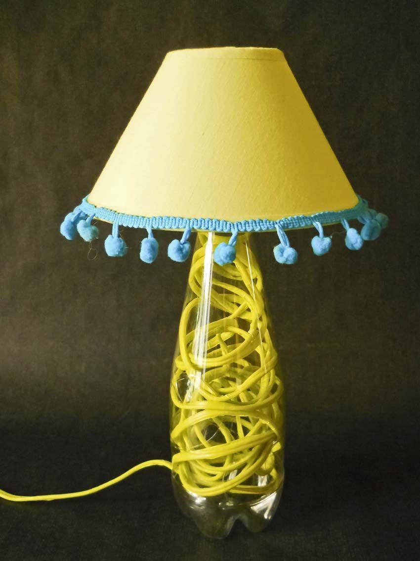 tutorial: come realizzare una #lampada da tavolo con una bottiglia ... - Lampade Riciclo Creativo