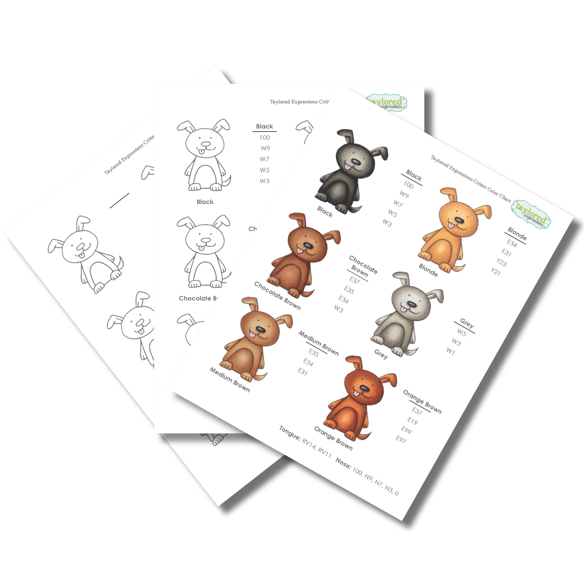 Copic Fur Color Chart Download Copic Coloring Copic Color Chart Copic Markers Tutorial