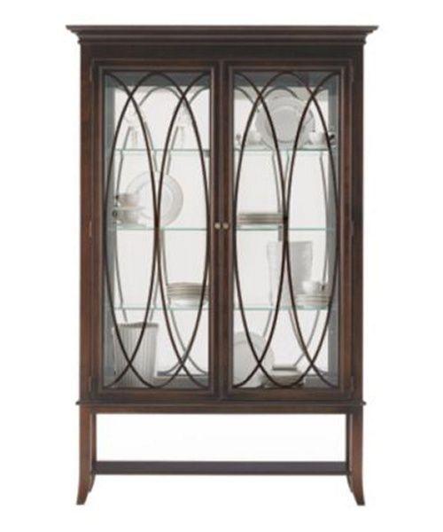 Stanley Furniture Hudson Street Curio Cabinet Dark Espresso 712 11 Cabinets At Hayneedle