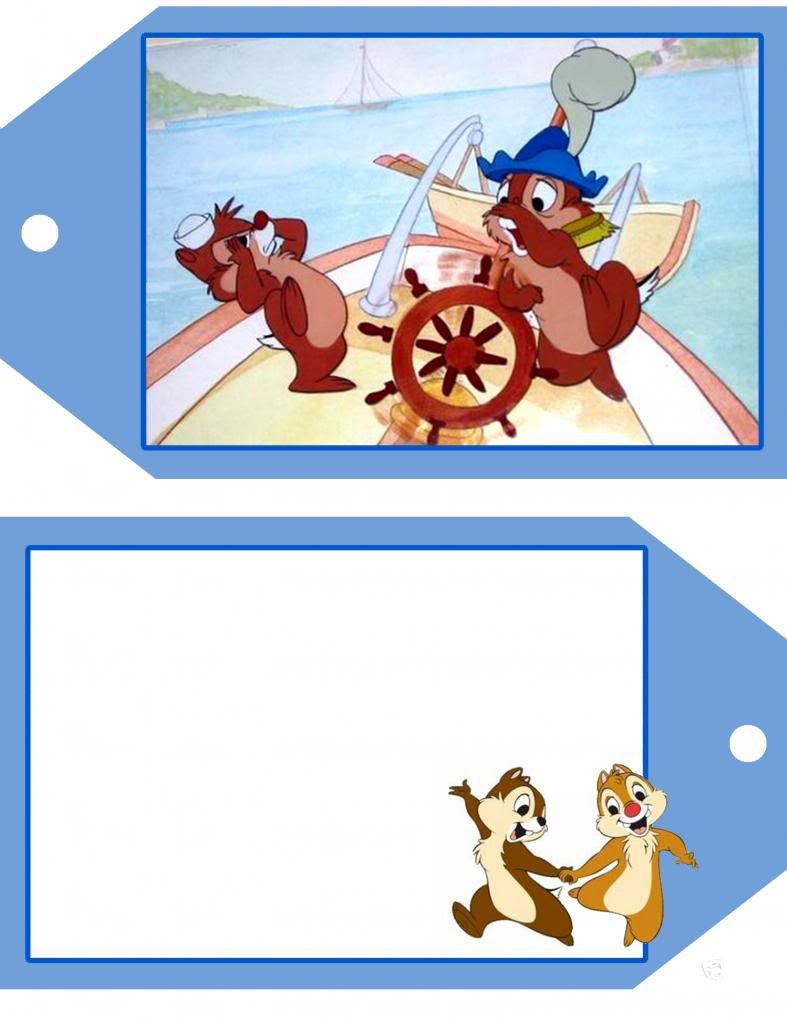 Chip and Dale tags