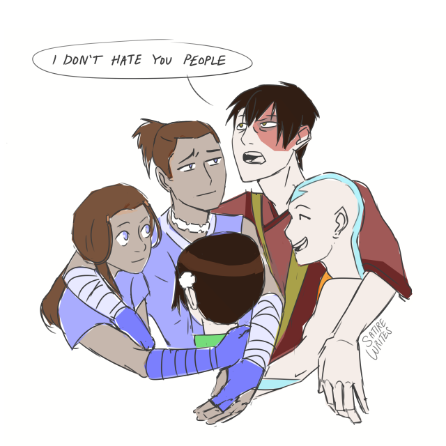 despresso - zuko: i've only had the gaang for a day and ...
