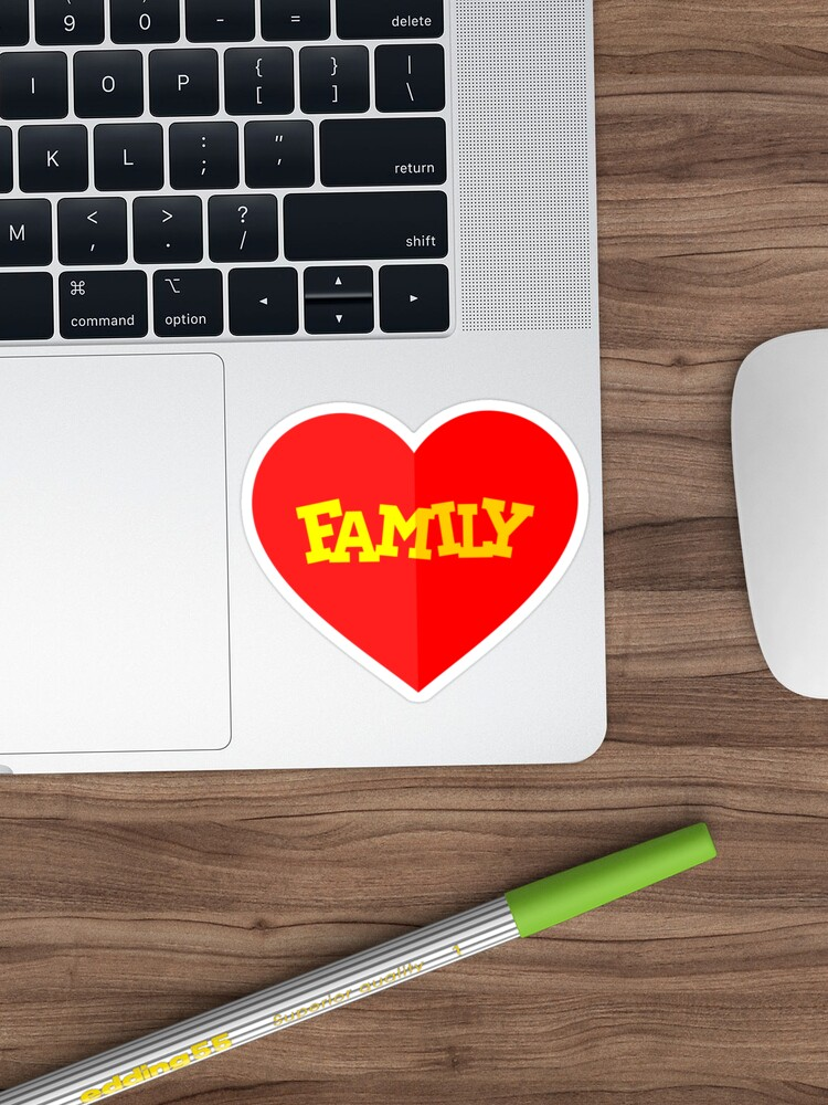 'Family' Sticker by TheArtism in 2020 Family stickers