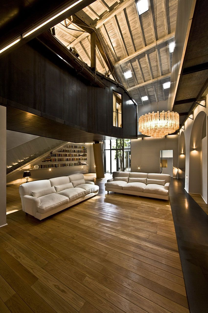 mdaa  The Trastevere Loft in Rome by MdAA architects | (2) Architecture + ...