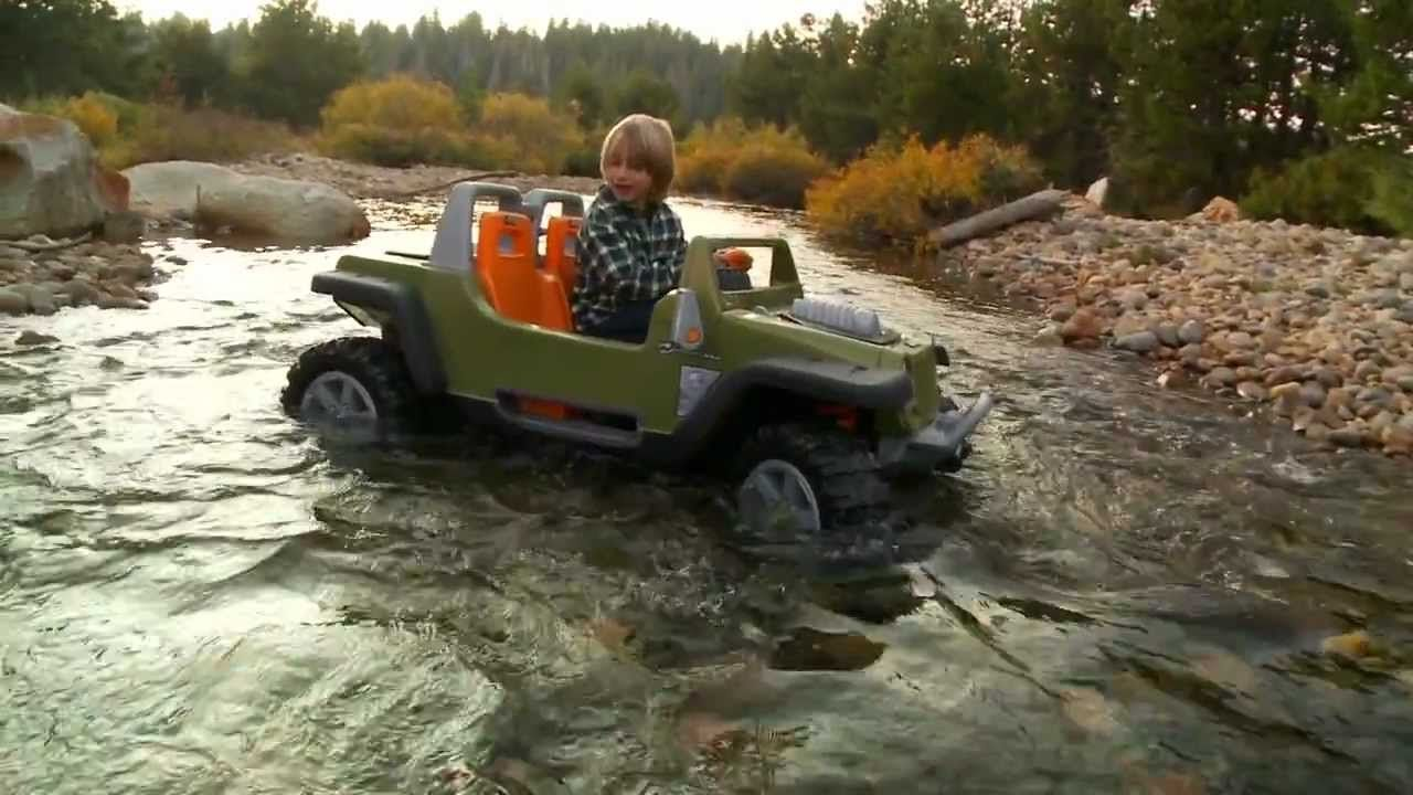 Power Wheels Jeep Hurricane With Creek Crossing Power Wheels