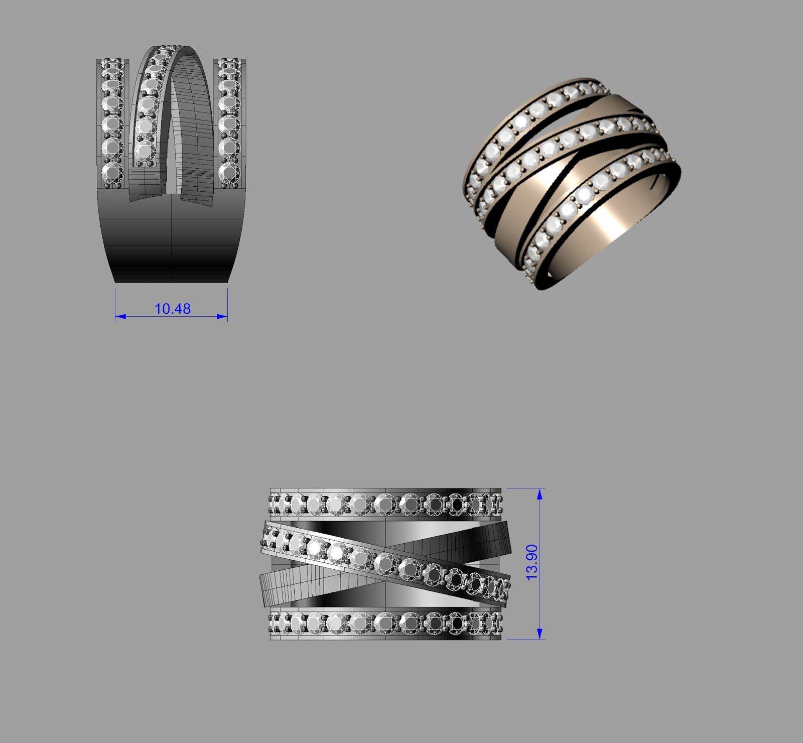 Cad Design Cad Jewelry design Custom Made Jewelry Queens Jeweler