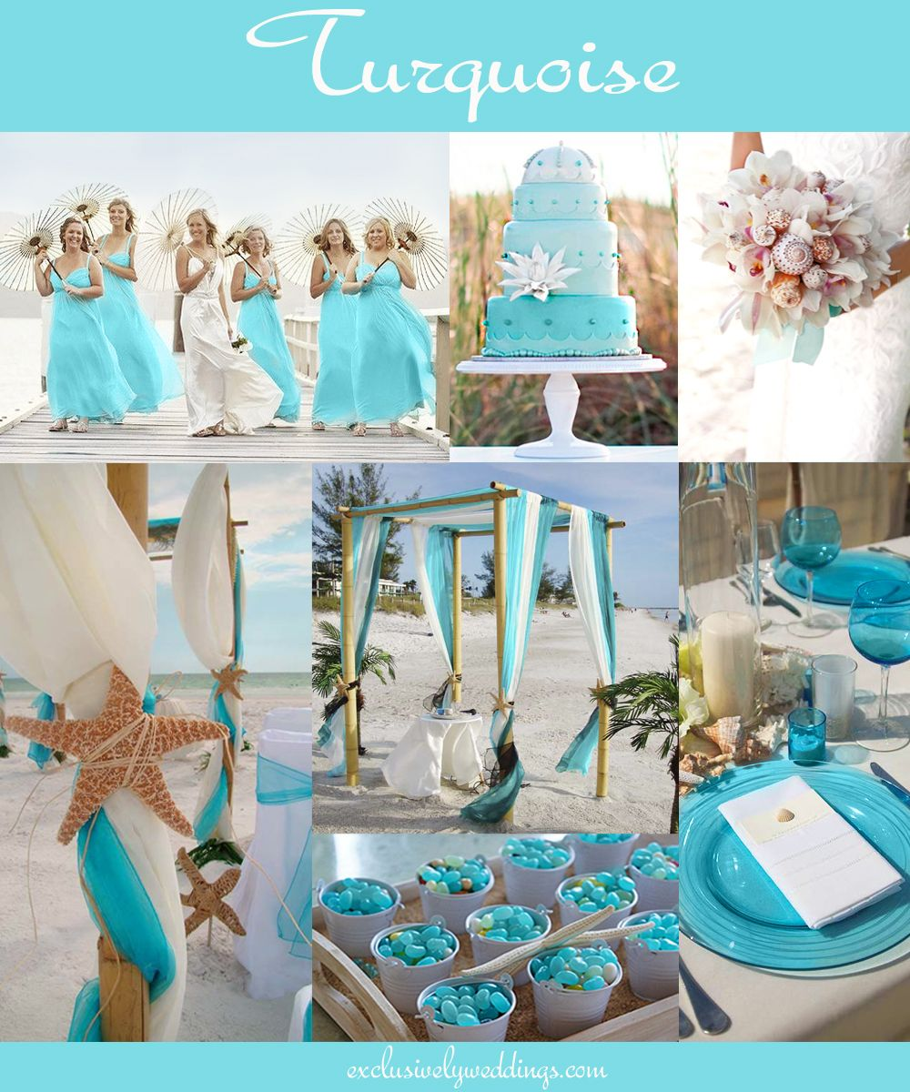 The 10 all time most popular wedding colors casamento praias e the 10 all time most popular wedding colors exclusively weddings junglespirit Gallery