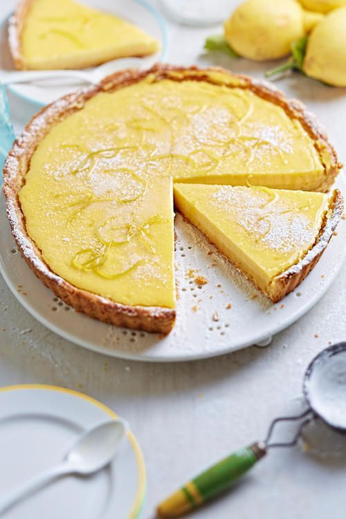 Italian lemon tart -  The recipe for the most refreshing cake par excellence, of course, comes from