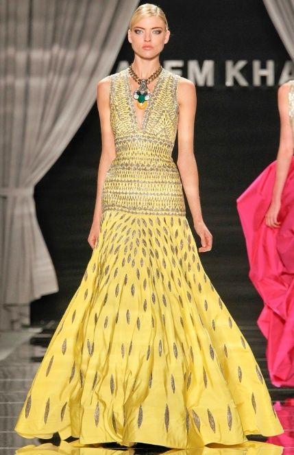 Naeem Khan, NYFW. #fashion