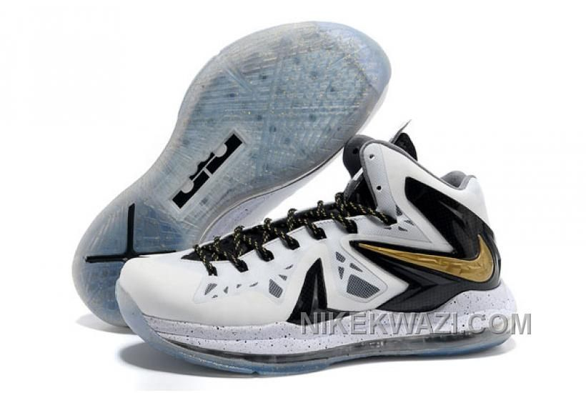 "http://www.nikekwazi.com/nike-lebron-10-elite-home-white-black-metallic-gold.html NIKE LEBRON 10 ELITE ""HOME"" WHITE/BLACK/METALLIC GOLD Only $83.00 , Free Shipping!"