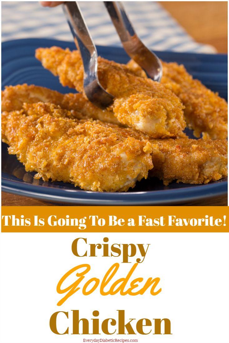 Crispy Golden Chicken
