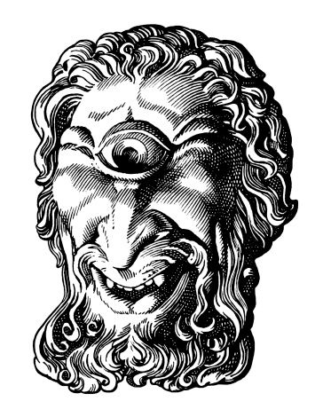 Cyclops Ancient Greek Tattoo Cyclops Ancient Myths