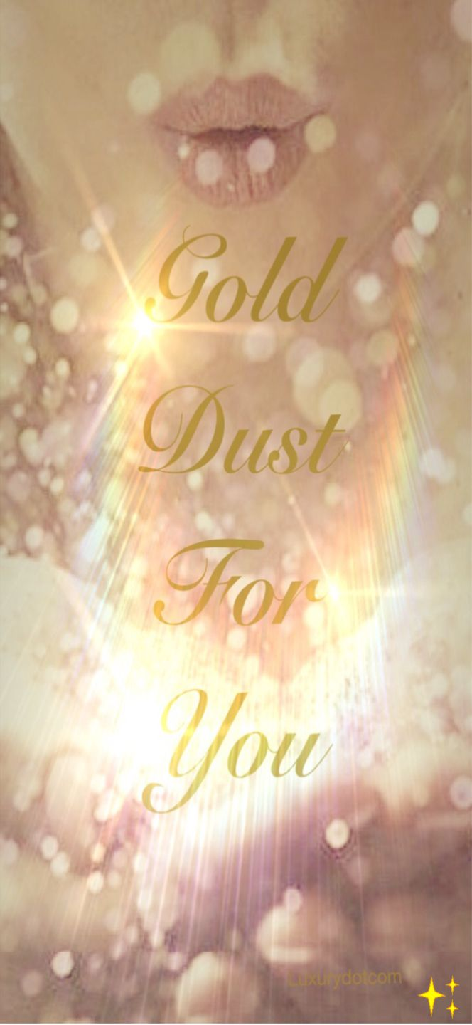 Gold dust for you My Lovely Lady - Luxurydotcom x