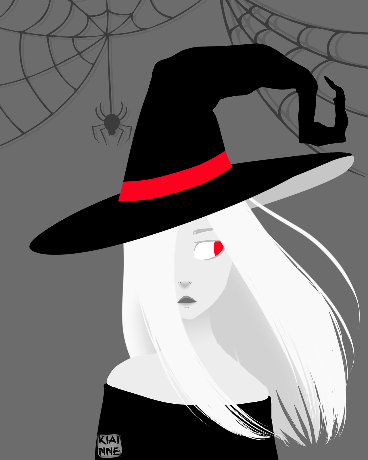 """8d809ff356ff5 neversayever  """"I forgot to post here oh no I m sorry. Belated Happy  Halloween. Have a quick Anadil in all her witchy glory """""""