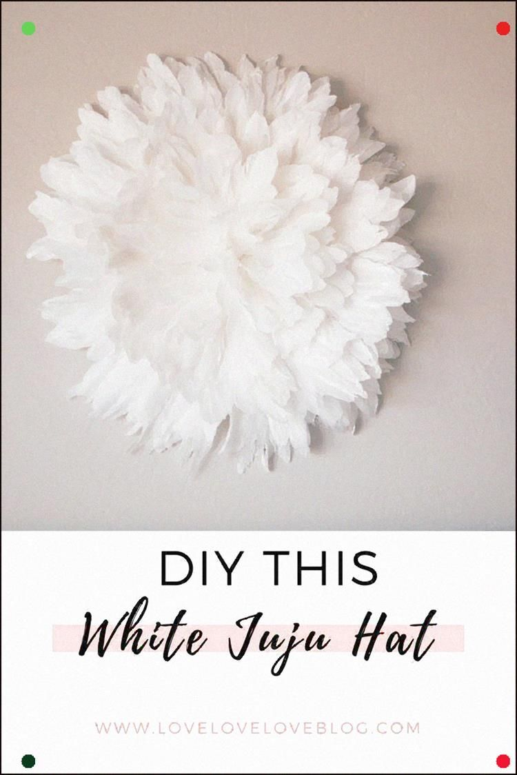 This Juju Hat Diy Decor Is Perfect Above Bed, In A Bedroom, Living Room, Nursery Or Fireplace My Tutorial For How To Make A Juju Hat Is Super Easy And Cheap And Only Takes An Hour #Decor #Jujuhat #Homedecor #Diy #Handmade #Home #Interiordesign #Craft