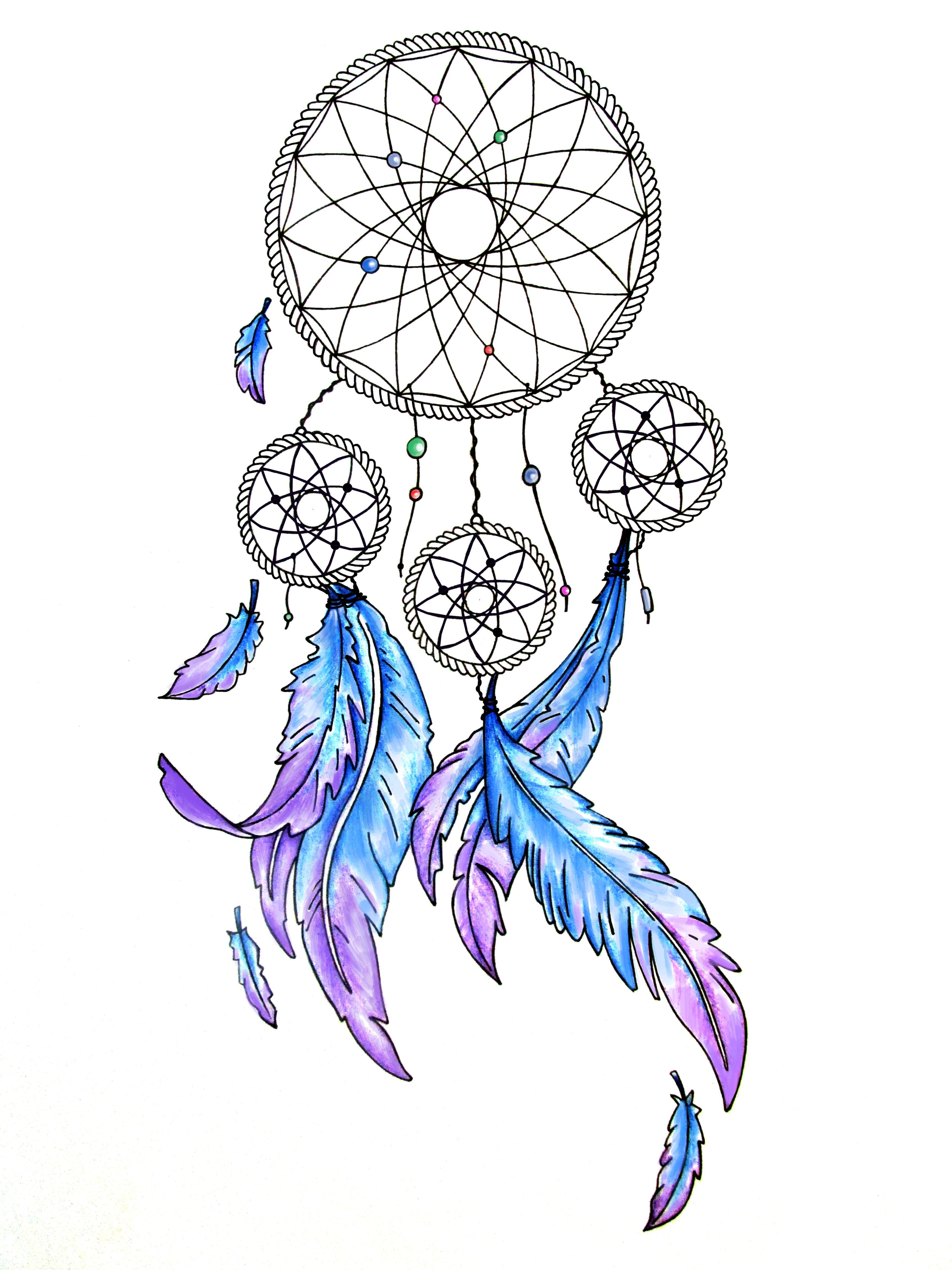 Татуировки картинки ловец снов