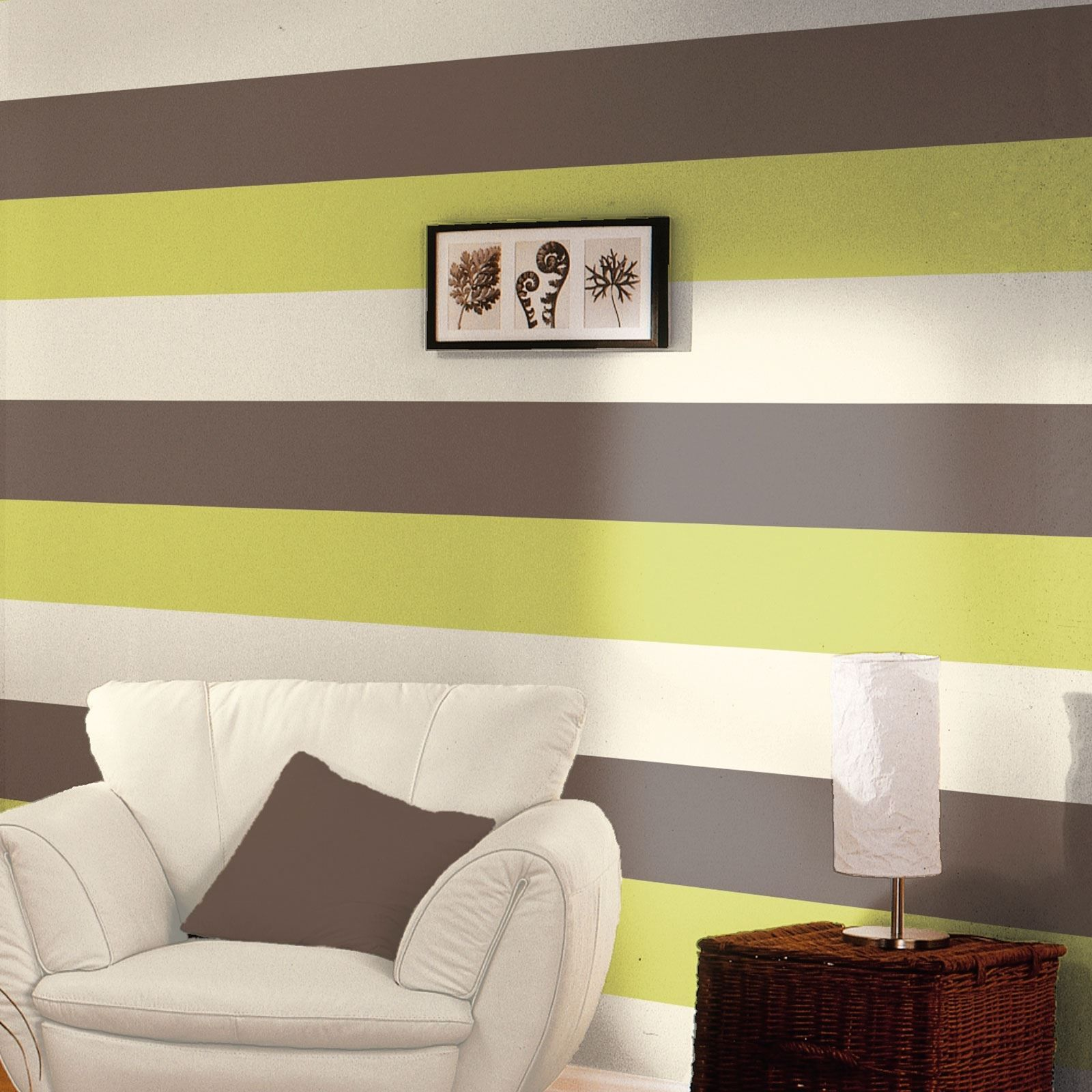 STRIPE-WALLPAPER-NEW-FEATURE-WALL-LIME-CHOCOLATE-GREY-ORANGE-MORE ...